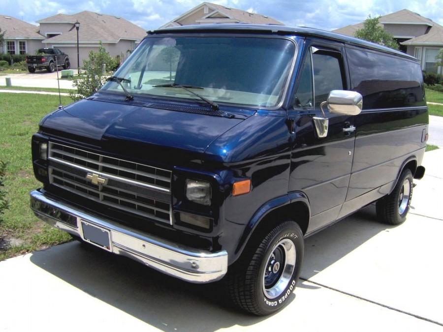 Chevrolet Chevy Van фургон, 1983–1991, 3 поколение [3-й рестайлинг] - отзывы, фото и характеристики на Car.ru