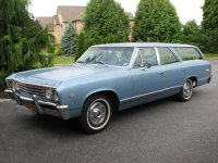 Chevrolet Chevelle, 1 поколение [3-й рестайлинг], Station wagon универсал, 1967