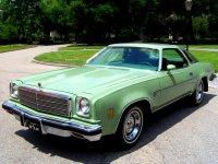 Chevrolet Chevelle, 1974, 3 поколение [рестайлинг], Купе 2-дв.
