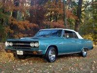 Chevrolet Chevelle, 1965, 1 поколение [рестайлинг], Кабриолет