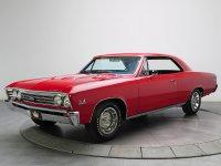 Chevrolet Chevelle, 1 поколение [3-й рестайлинг], Sport coupe купе, 1967