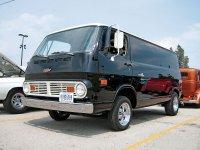 Chevrolet Chevy Van, 2 поколение, Фургон, 1967–1970