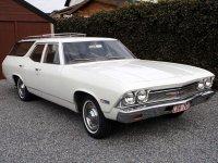 Chevrolet Chevelle, 1968, 2 поколение, Nomad station wagon универсал 5-дв.