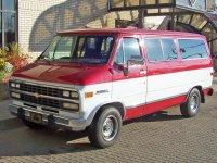Chevrolet Chevy Van, 3 поколение [4-й рестайлинг], Sportvan микроавтобус, 1992–1996