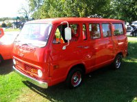Chevrolet Chevy Van, 2 поколение, Sportvan микроавтобус, 1967–1970