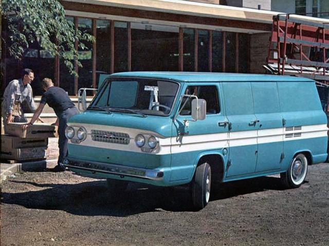 Chevrolet Corvair фургон, 1961–1965, 1 поколение [рестайлинг] - отзывы, фото и характеристики на Car.ru