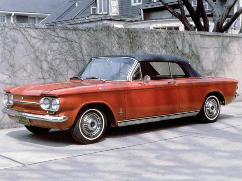 Chevrolet Corvair кабриолет, 1963, 1 поколение [3-й рестайлинг] - отзывы, фото и характеристики на Car.ru
