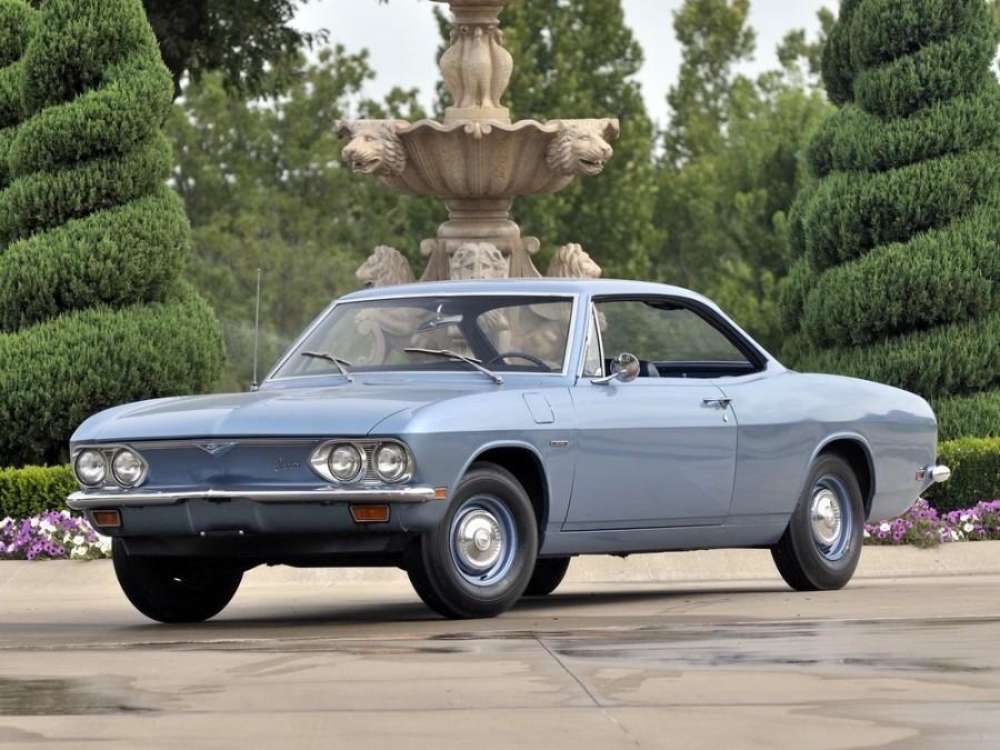 Chevrolet Corvair купе, 1965–1969, 2 поколение [рестайлинг] - отзывы, фото и характеристики на Car.ru