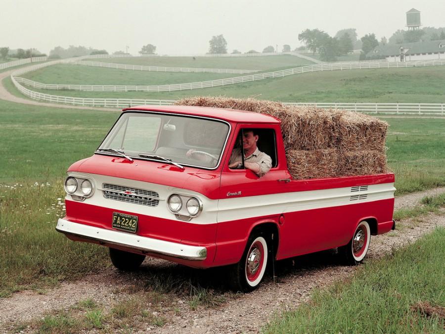 Chevrolet Corvair Rampside пикап, 1961–1965, 1 поколение [рестайлинг] - отзывы, фото и характеристики на Car.ru