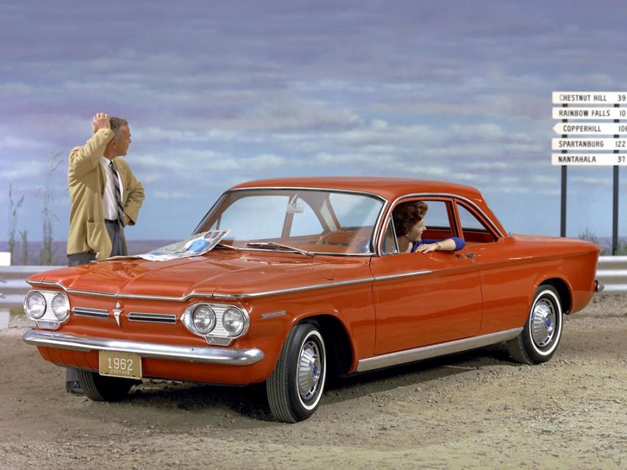 Chevrolet Corvair купе, 1962, 1 поколение [2-й рестайлинг] - отзывы, фото и характеристики на Car.ru