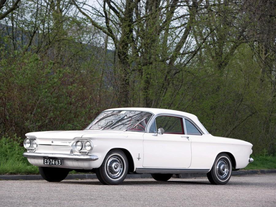 Chevrolet Corvair купе, 1963, 1 поколение [3-й рестайлинг] - отзывы, фото и характеристики на Car.ru