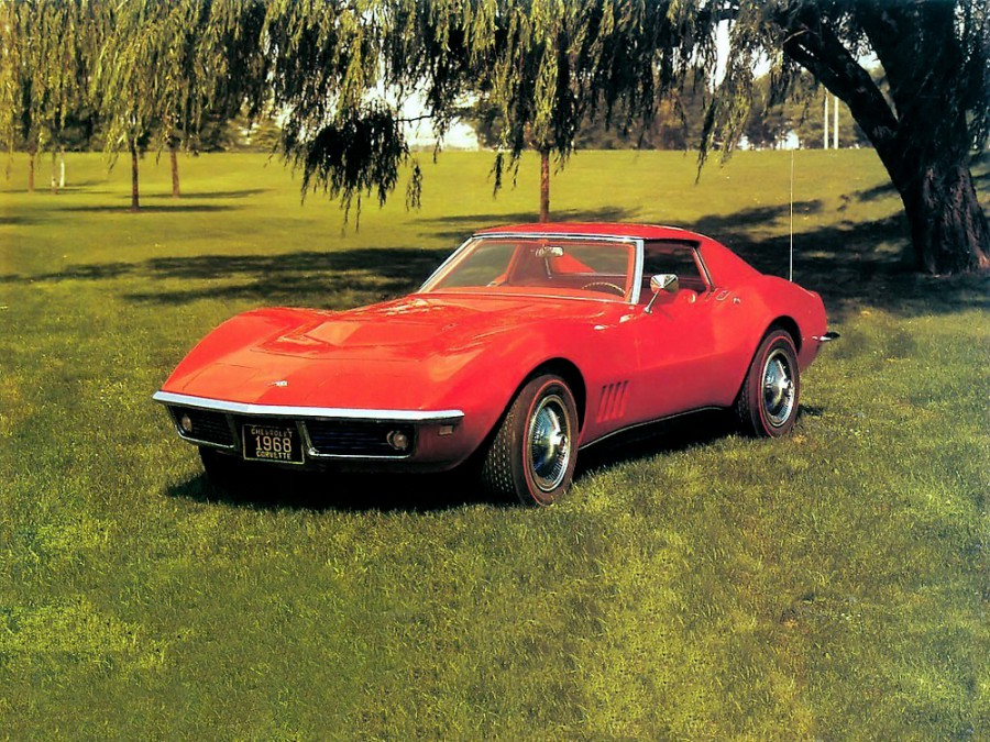 Chevrolet Corvette Sting Ray тарга, 1968–1969, C3 - отзывы, фото и характеристики на Car.ru