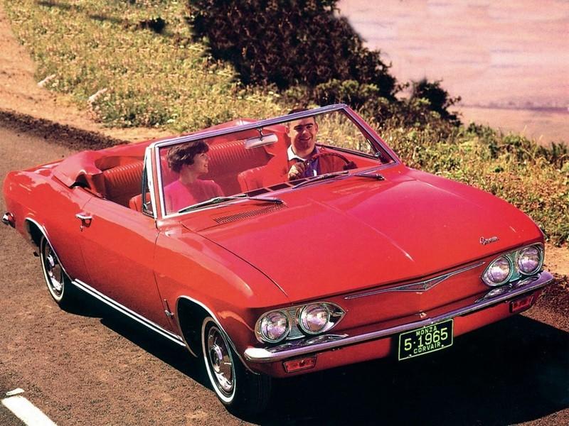 Chevrolet Corvair кабриолет, 1965, 2 поколение - отзывы, фото и характеристики на Car.ru
