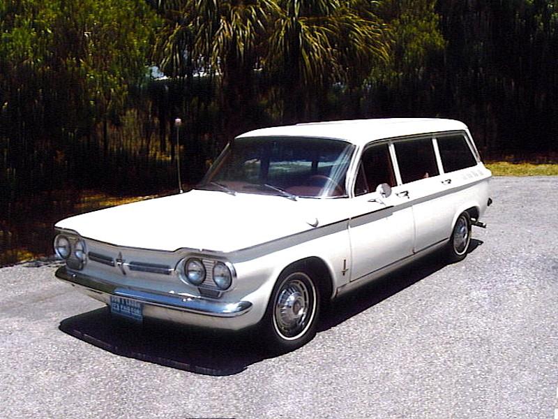Chevrolet Corvair универсал, 1962, 1 поколение [2-й рестайлинг] - отзывы, фото и характеристики на Car.ru