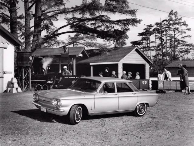 Chevrolet Corvair седан, 1963, 1 поколение [3-й рестайлинг] - отзывы, фото и характеристики на Car.ru