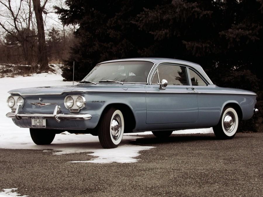 Chevrolet Corvair купе, 1960, 1 поколение - отзывы, фото и характеристики на Car.ru