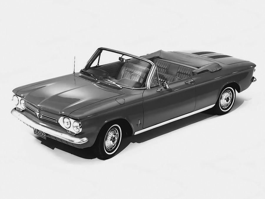Chevrolet Corvair кабриолет, 1962, 1 поколение [2-й рестайлинг] - отзывы, фото и характеристики на Car.ru