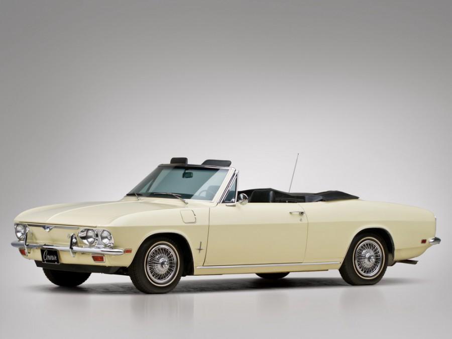 Chevrolet Corvair кабриолет, 1965–1969, 2 поколение [рестайлинг] - отзывы, фото и характеристики на Car.ru
