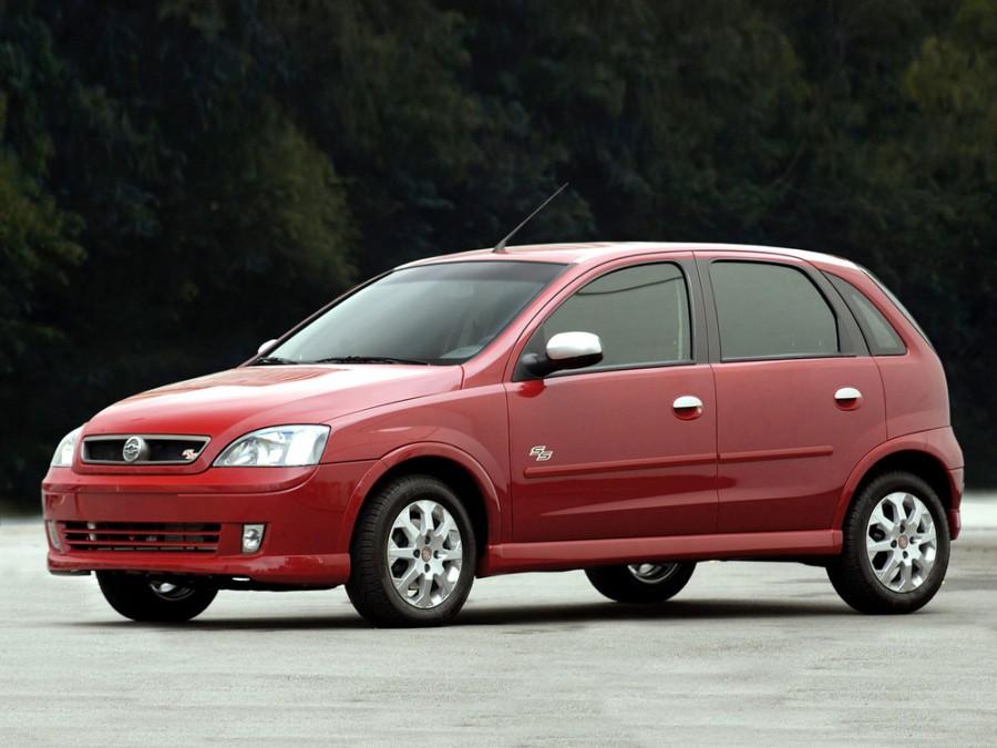 Chevrolet Corsa SS хетчбэк 5-дв., 2002–2012, 2 поколение - отзывы, фото и характеристики на Car.ru
