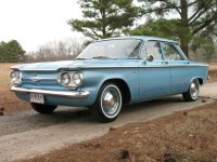 Chevrolet Corvair, 1 поколение [рестайлинг], Седан, 1961–1965