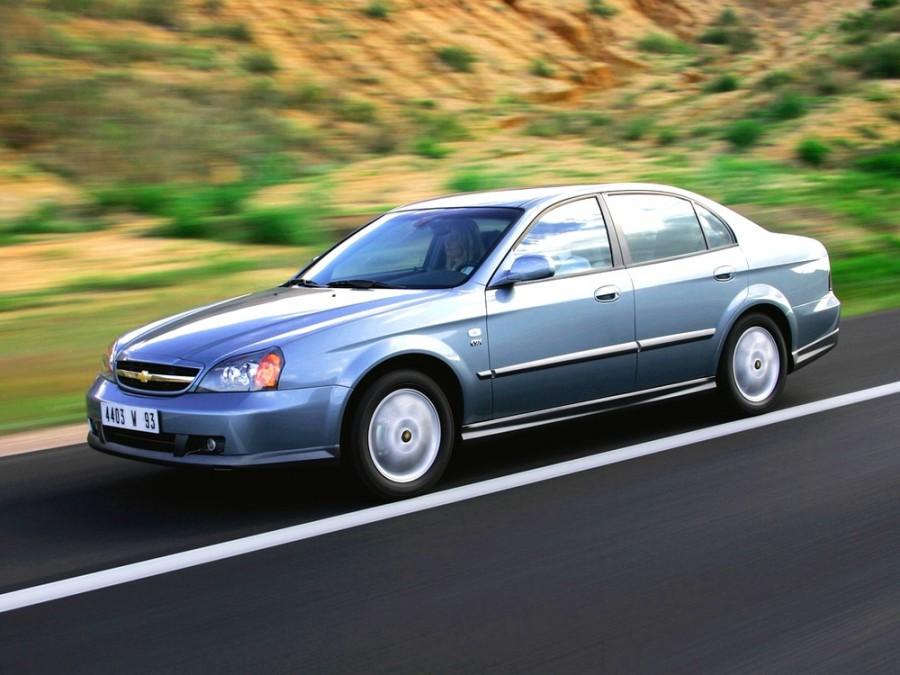Chevrolet Evanda седан, 2004–2006, 1 поколение - отзывы, фото и характеристики на Car.ru