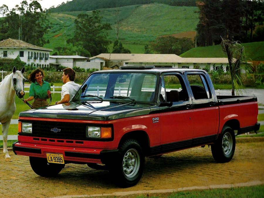 Chevrolet D20 Crew Cab пикап 4-дв., 1 поколение - отзывы, фото и характеристики на Car.ru
