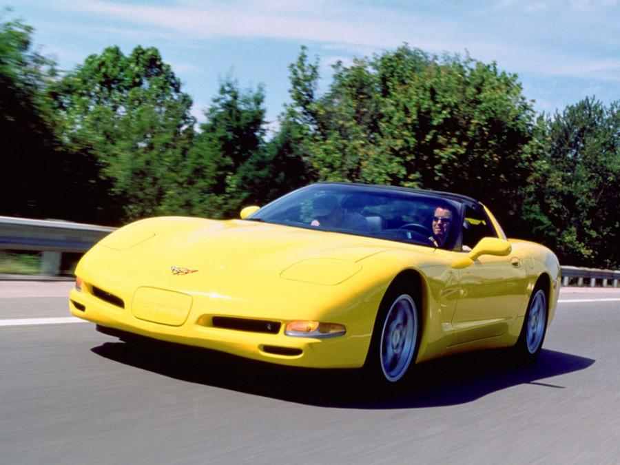 Chevrolet Corvette тарга, 1997–2004, C5 - отзывы, фото и характеристики на Car.ru