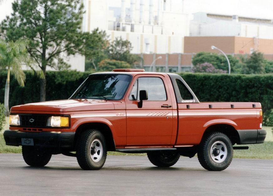 Chevrolet D20 пикап 2-дв., 1993–1997, 1 поколение [рестайлинг] - отзывы, фото и характеристики на Car.ru