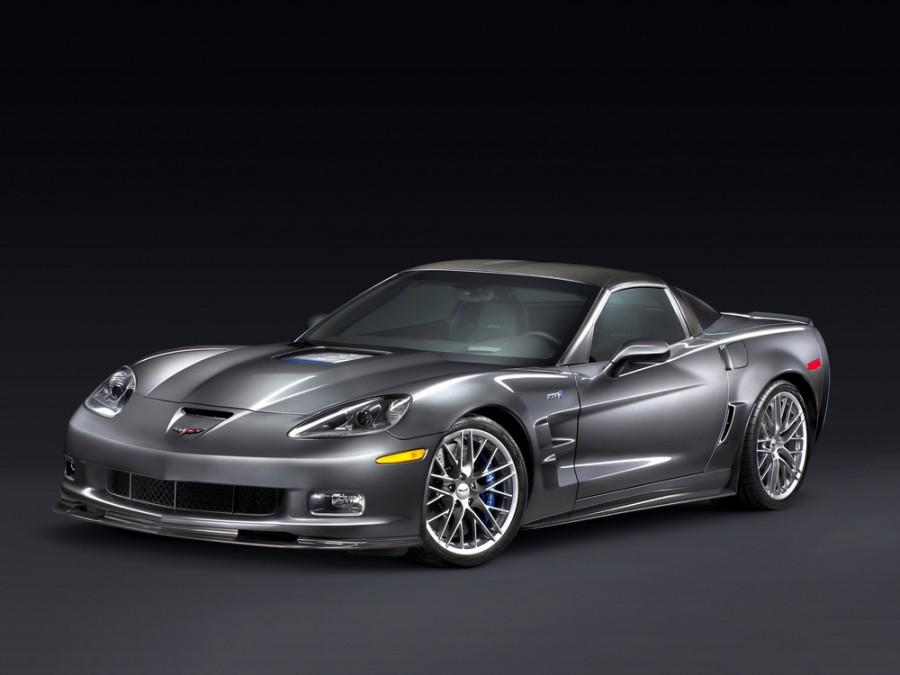 Chevrolet Corvette ZR1 тарга 2-дв., 2006–2013, C6 [рестайлинг] - отзывы, фото и характеристики на Car.ru