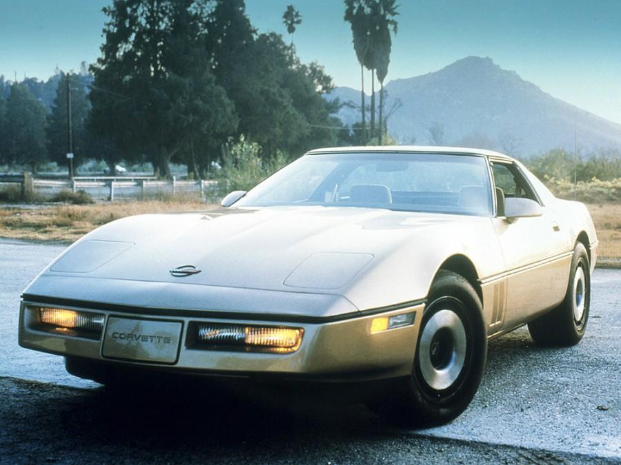 Chevrolet Corvette тарга, 1984–1986, C4 - отзывы, фото и характеристики на Car.ru