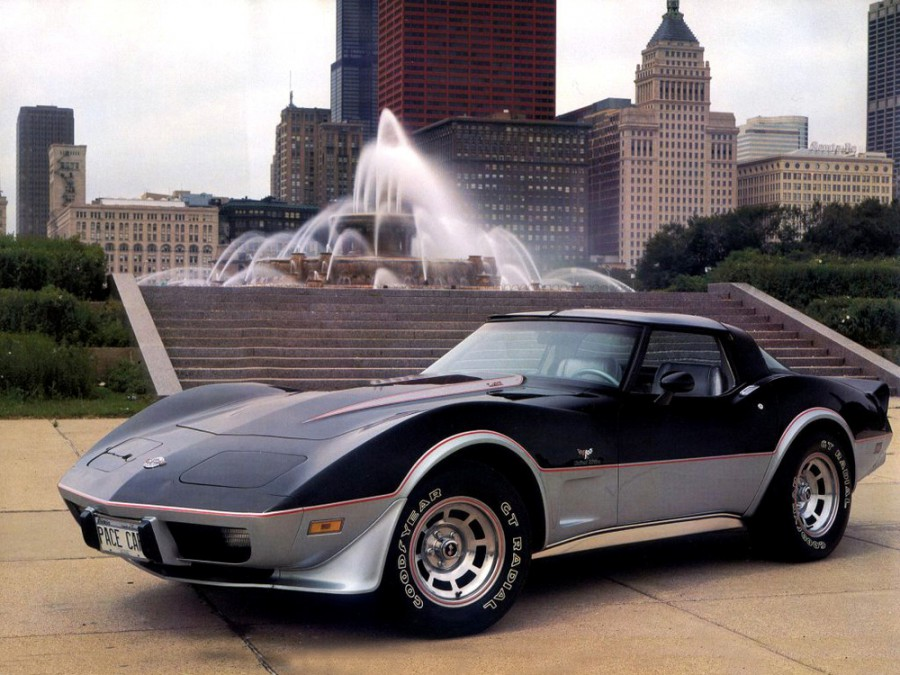 Chevrolet Corvette Pace Car купе 2-дв., 1975–1979, C3 [3-й рестайлинг] - отзывы, фото и характеристики на Car.ru