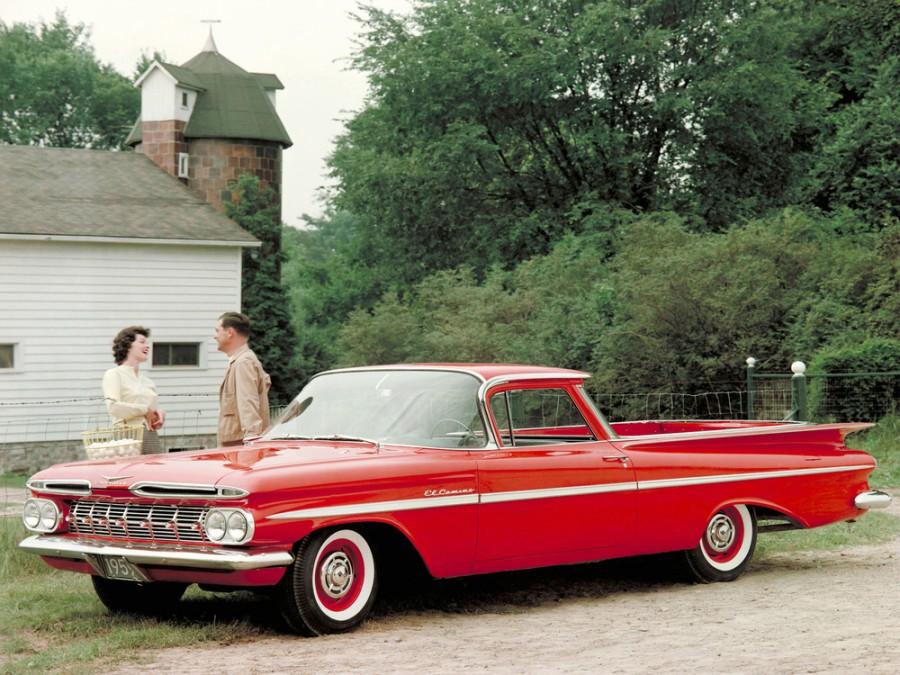 Chevrolet El Camino пикап, 1959, 1 поколение - отзывы, фото и характеристики на Car.ru