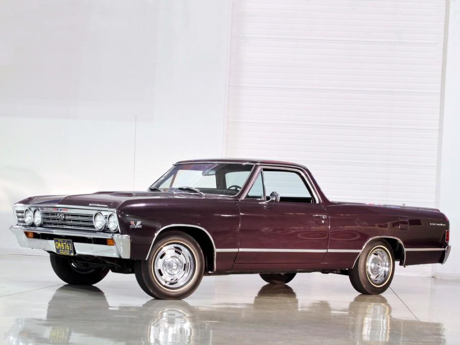 Chevrolet El Camino пикап, 1967, 2 поколение [3-й рестайлинг] - отзывы, фото и характеристики на Car.ru