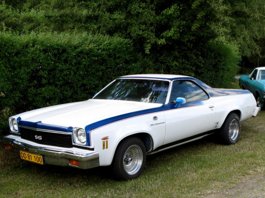 Chevrolet El Camino пикап, 1973, 4 поколение - отзывы, фото и характеристики на Car.ru