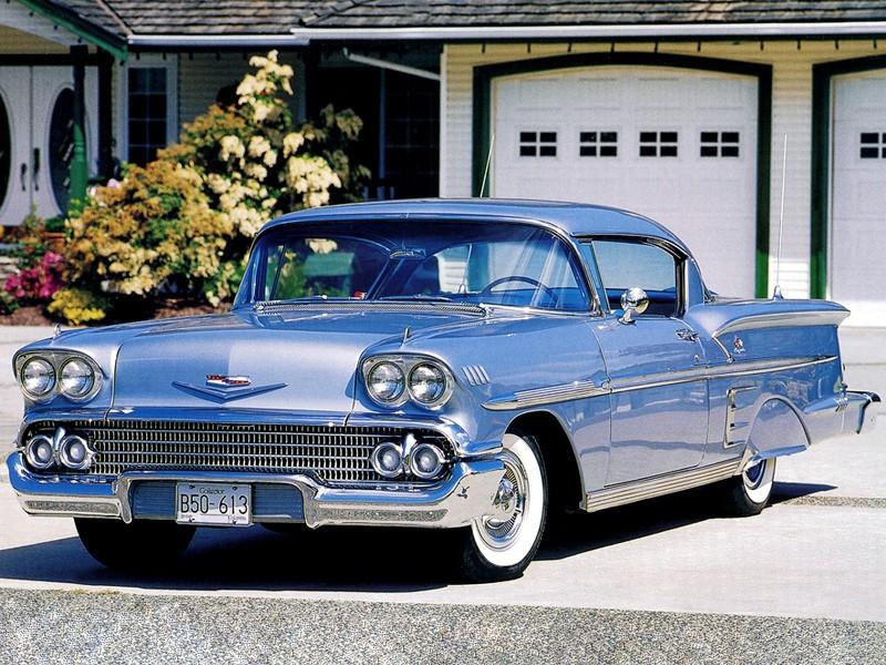 Chevrolet Impala купе, 1958, 1 поколение - отзывы, фото и характеристики на Car.ru
