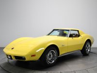 Chevrolet Corvette, C3 [2-й рестайлинг], Sting ray тарга, 1973–1975