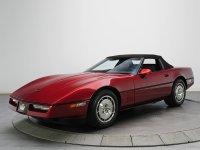 Chevrolet Corvette, C4 [рестайлинг], Родстер, 1988–1990
