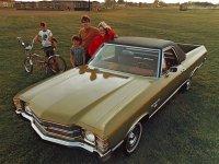 Chevrolet El Camino, 3 поколение [3-й рестайлинг], Пикап, 1971