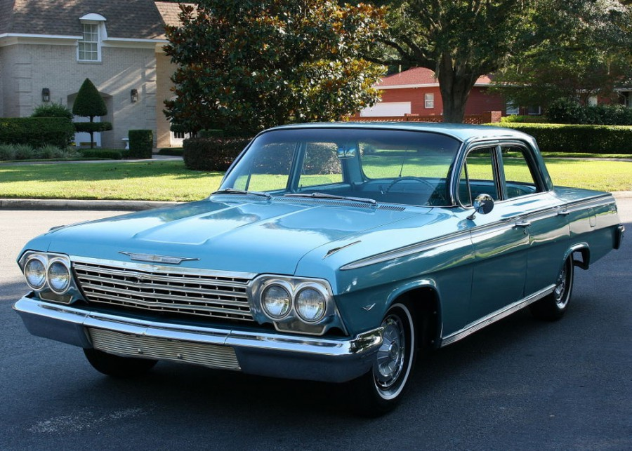 Chevrolet Impala седан, 1962, 3 поколение [рестайлинг] - отзывы, фото и характеристики на Car.ru