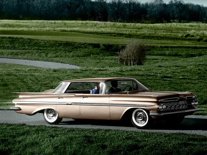 Chevrolet Impala Sport седан, 1959, 2 поколение - отзывы, фото и характеристики на Car.ru