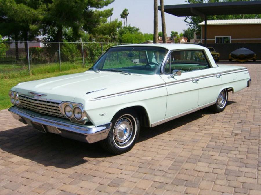 Chevrolet Impala хардтоп, 1962, 3 поколение [рестайлинг] - отзывы, фото и характеристики на Car.ru