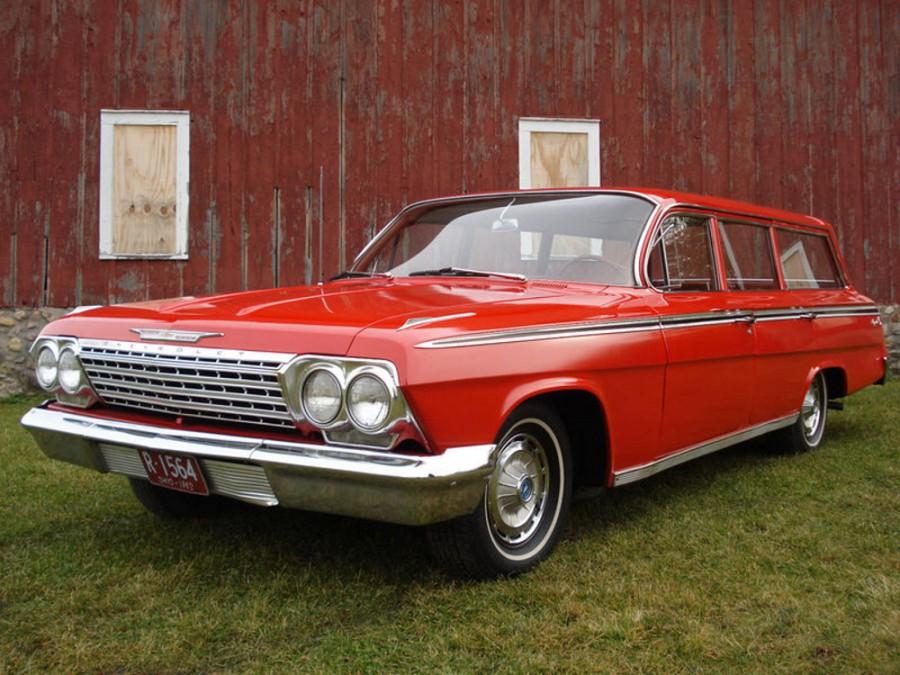 Chevrolet Impala универсал, 1962, 3 поколение [рестайлинг] - отзывы, фото и характеристики на Car.ru