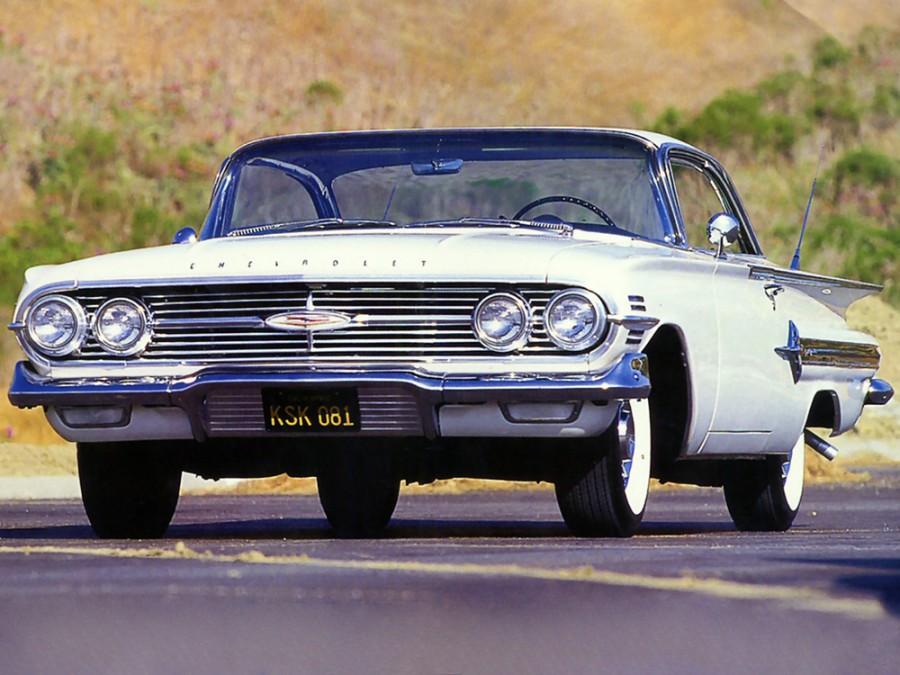 Chevrolet Impala Sport купе, 1960, 2 поколение [рестайлинг] - отзывы, фото и характеристики на Car.ru