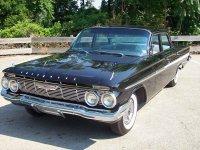 Chevrolet Impala, 1961, 3 поколение, Седан