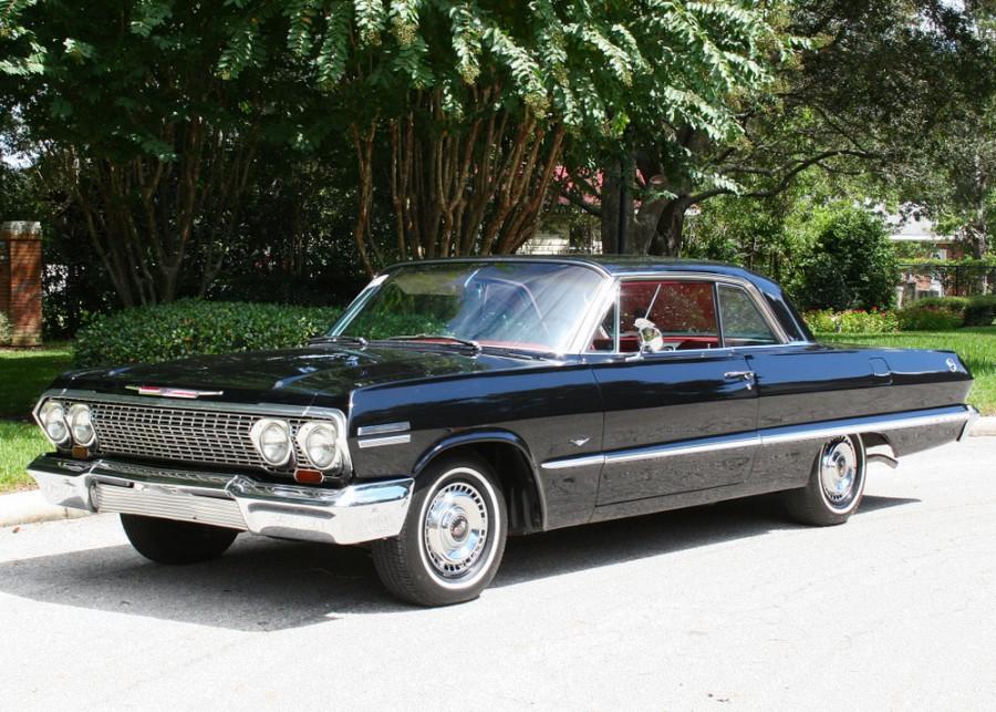 Chevrolet Impala купе, 1963, 3 поколение [2-й рестайлинг] - отзывы, фото и характеристики на Car.ru