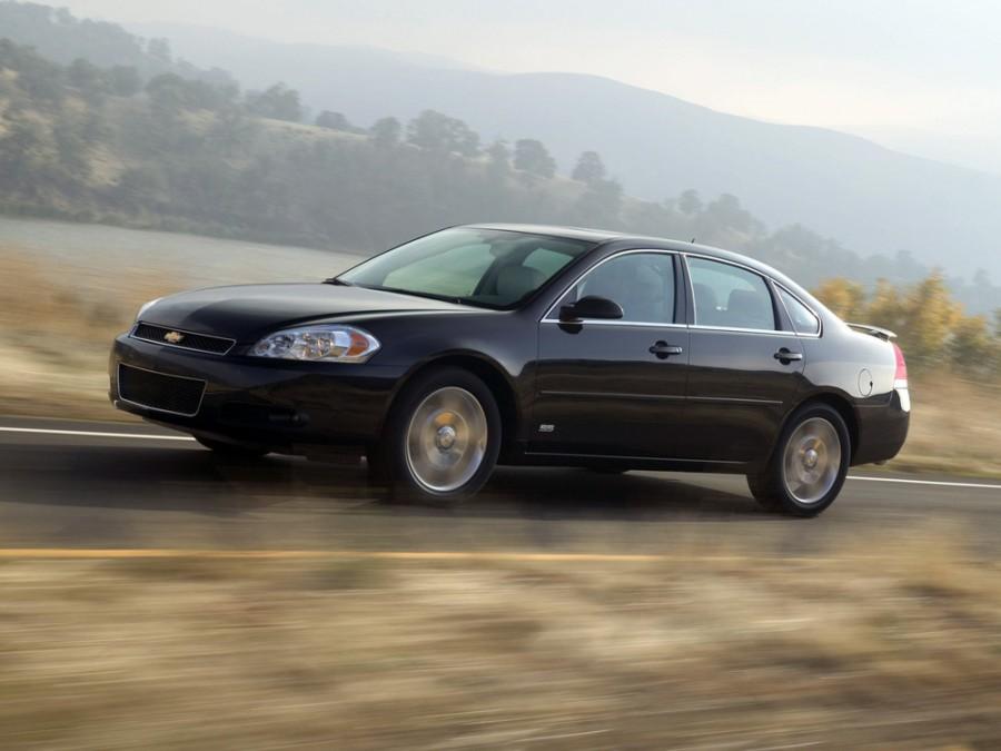Chevrolet Impala SS седан 4-дв., 2006–2013, 9 поколение - отзывы, фото и характеристики на Car.ru
