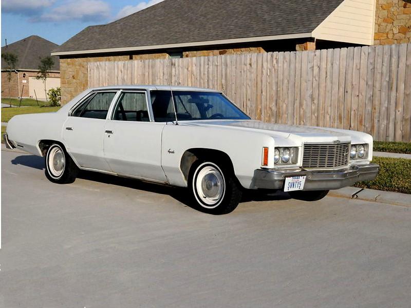 Chevrolet Impala седан, 1975, 5 поколение [4-й рестайлинг] - отзывы, фото и характеристики на Car.ru
