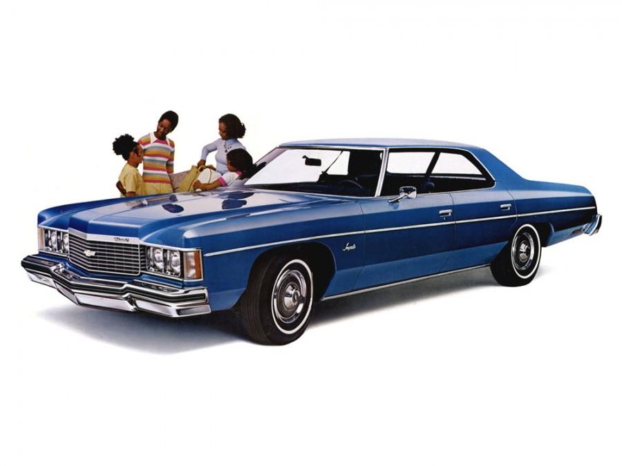 Chevrolet Impala хардтоп, 1974, 5 поколение [3-й рестайлинг] - отзывы, фото и характеристики на Car.ru