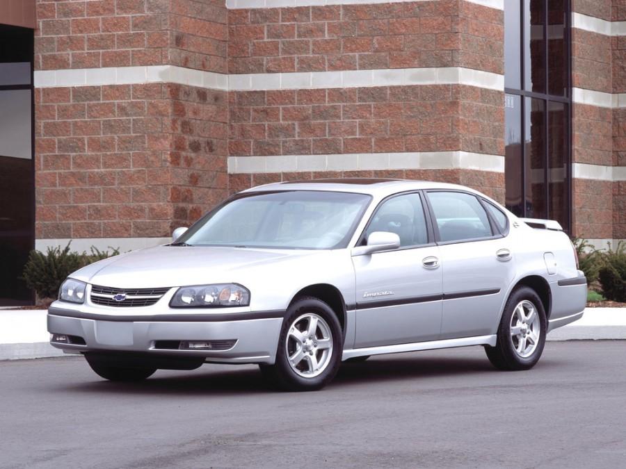 Chevrolet Impala седан, 2000–2006, 8 поколение - отзывы, фото и характеристики на Car.ru