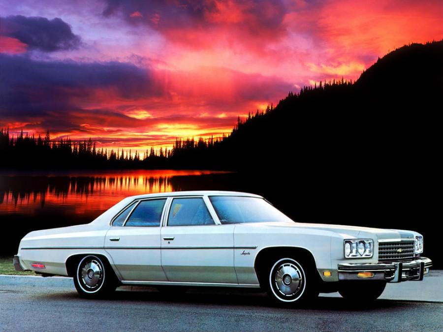 Chevrolet Impala седан, 1976, 5 поколение [5-й рестайлинг] - отзывы, фото и характеристики на Car.ru